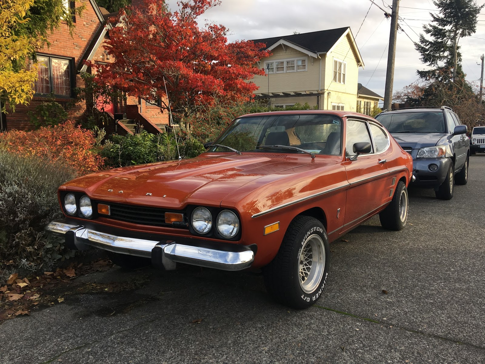 Mercury capri photo - 3