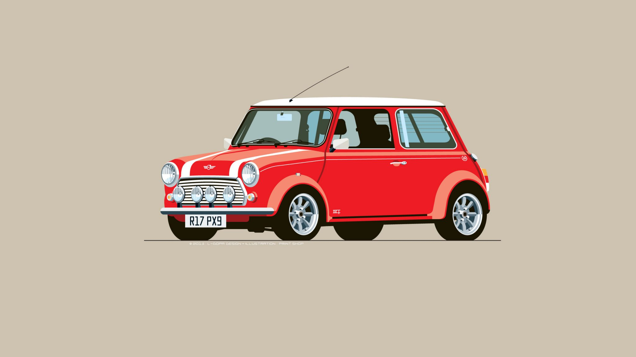 Mini red photo - 10