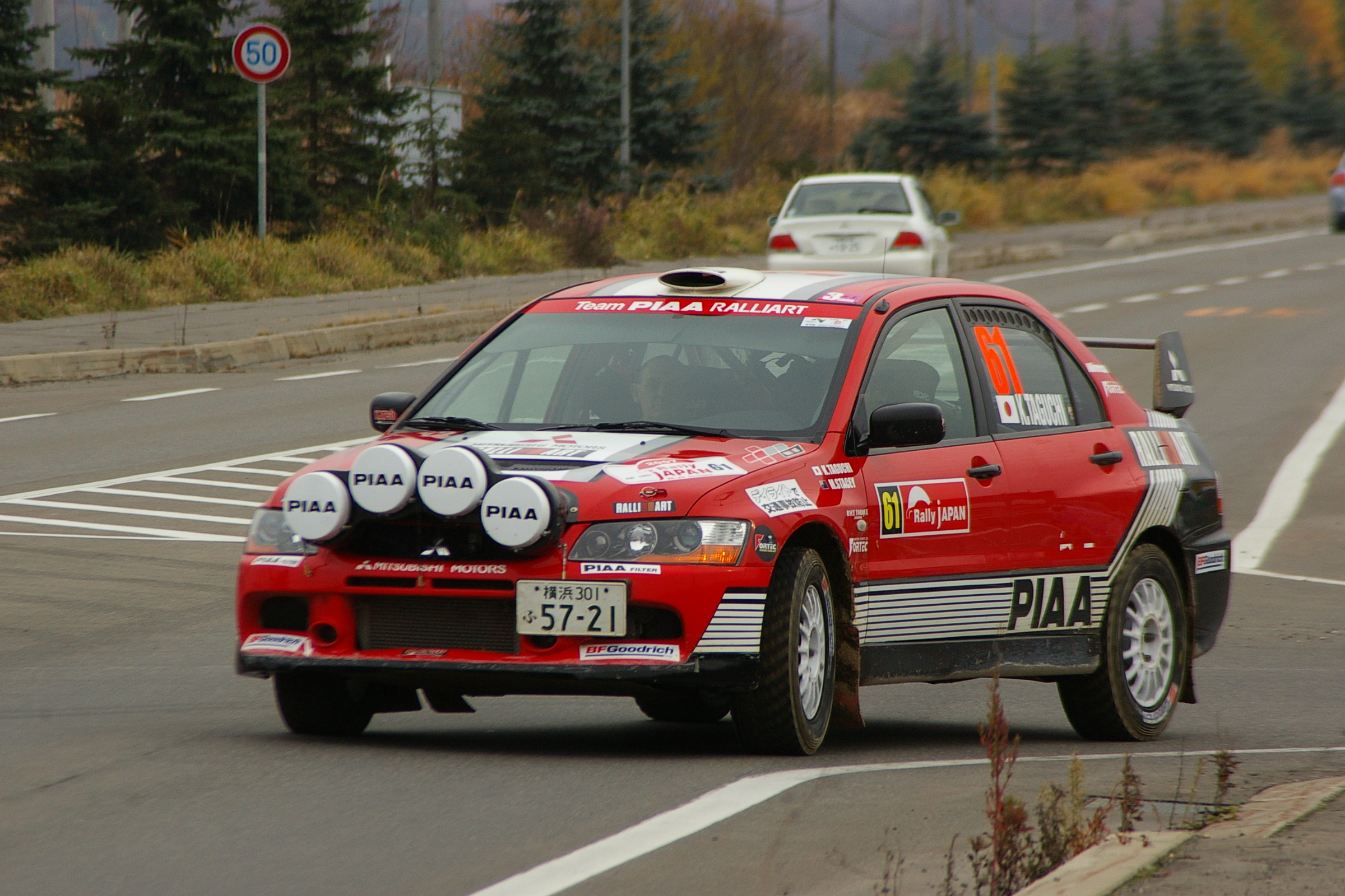 Mitsubishi rally photo - 7