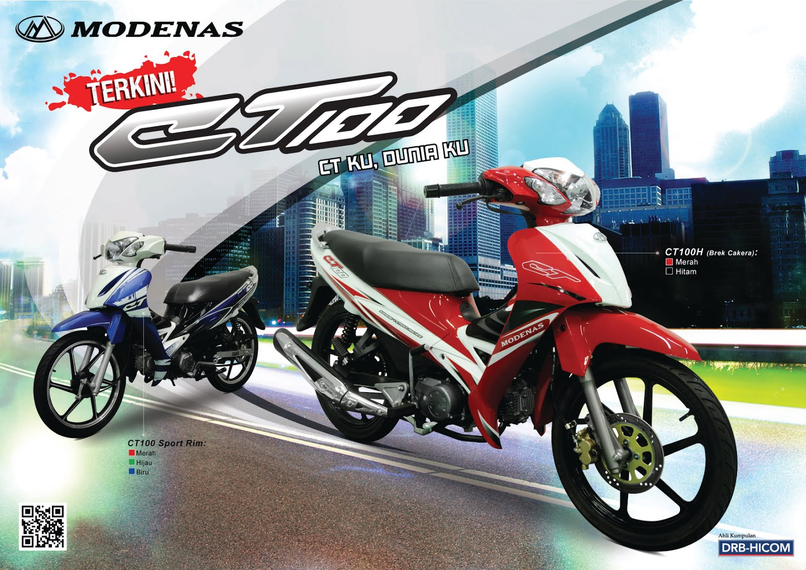 Modenas ct100 photo - 6