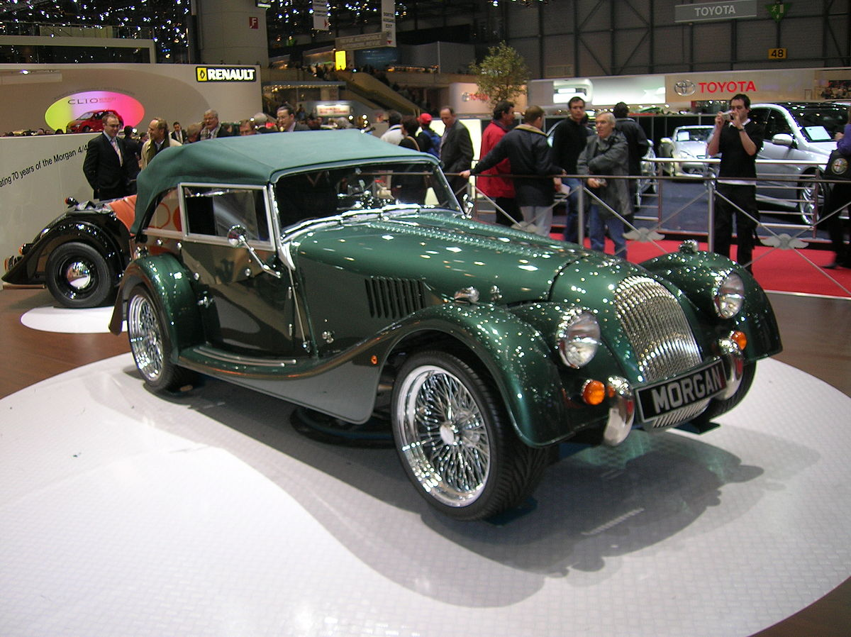 Morgan roadster photo - 2