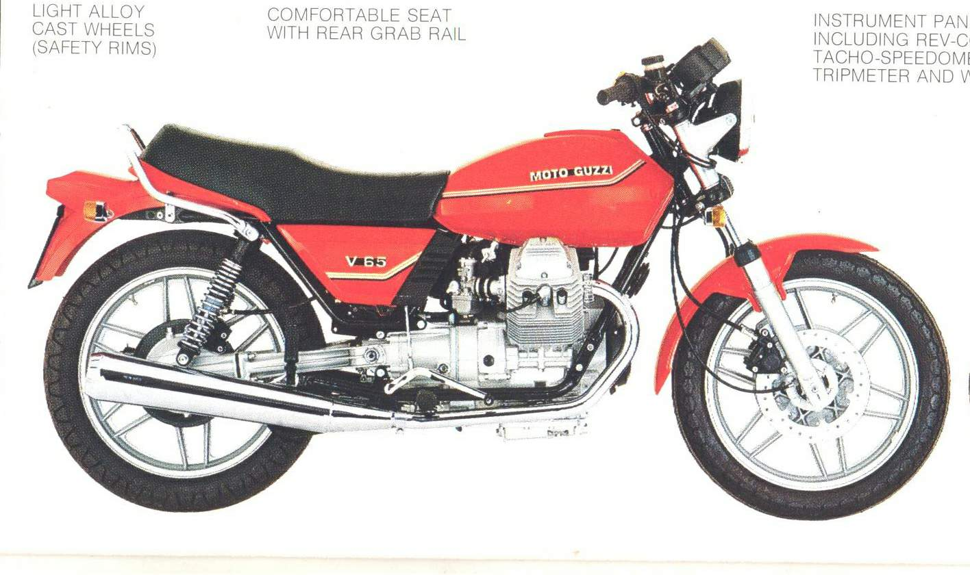 Moto guzzi 65 photo - 6