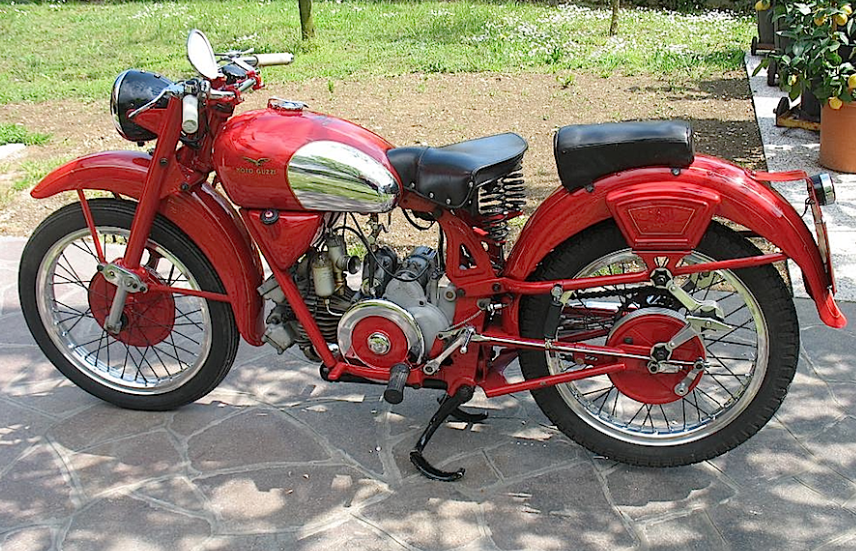 Moto guzzi airone photo - 3