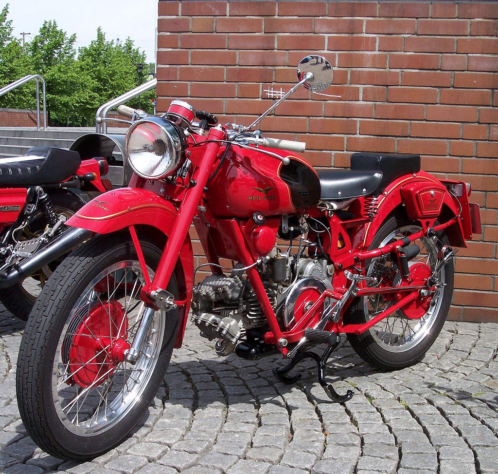 Moto guzzi airone photo - 9