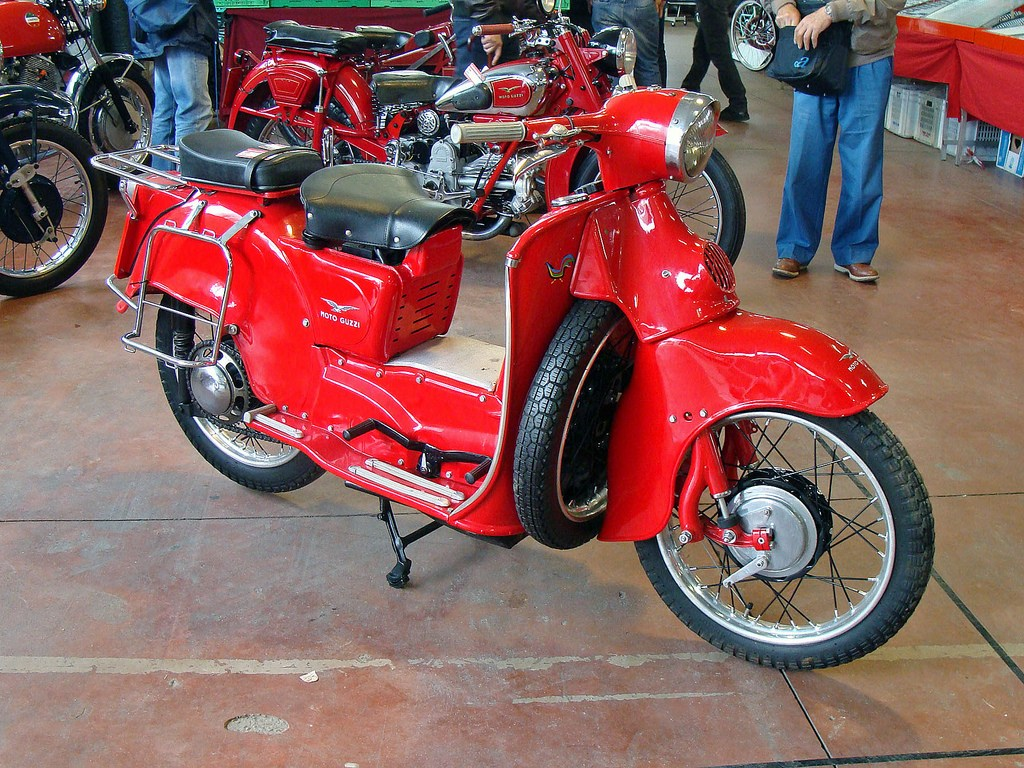 Moto guzzi galletto photo - 3