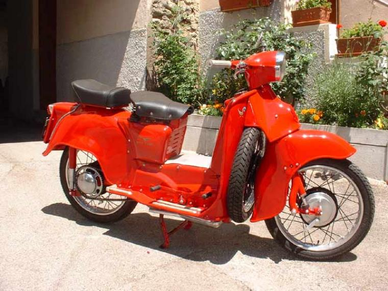 Moto guzzi galletto photo - 4