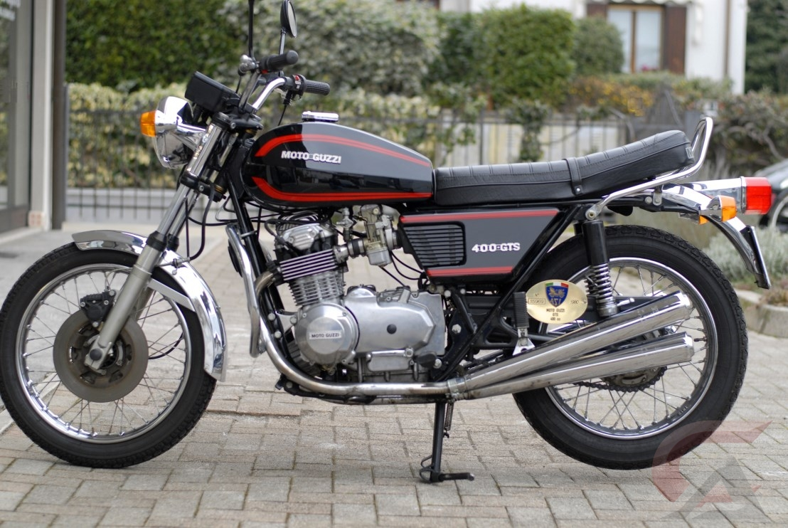 Moto guzzi gts photo - 4