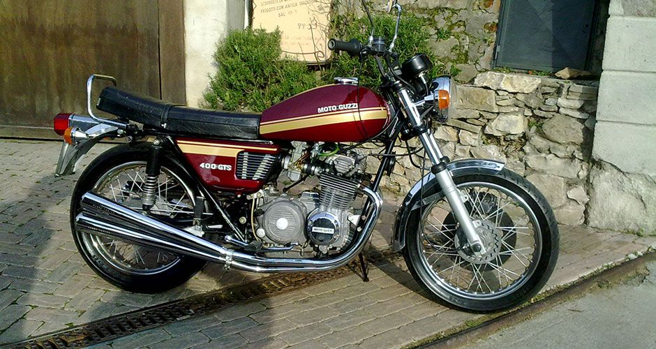 Moto guzzi gts photo - 5