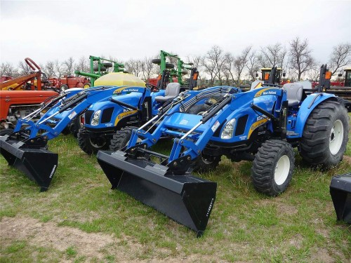 New holland 4055 photo - 10