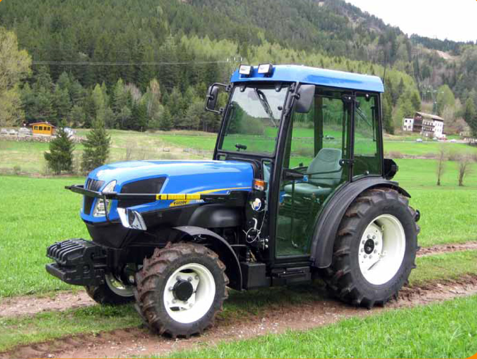 New holland 4055 photo - 2