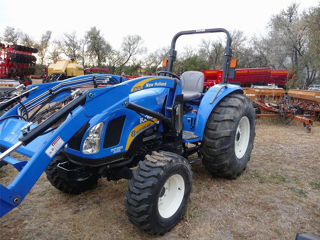 New holland 4055 photo - 4