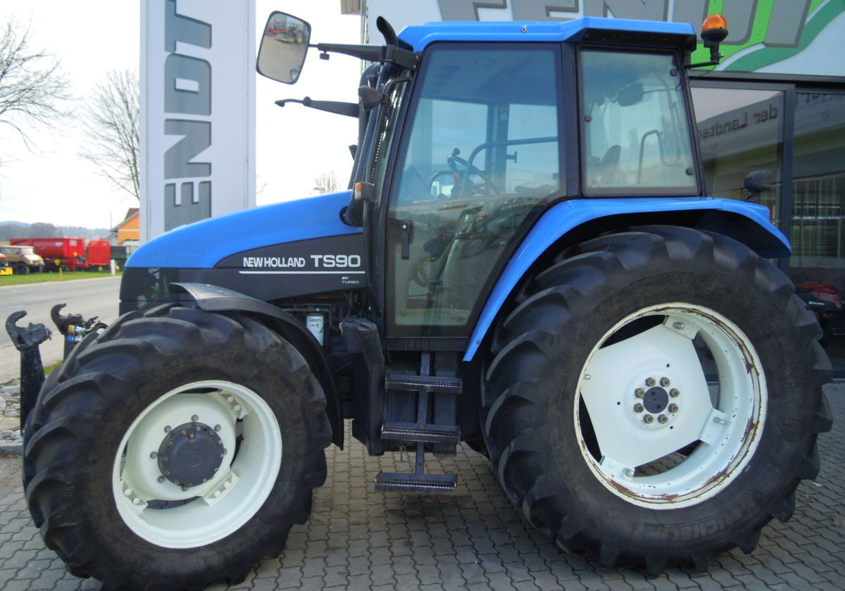 New holland 4055 photo - 6