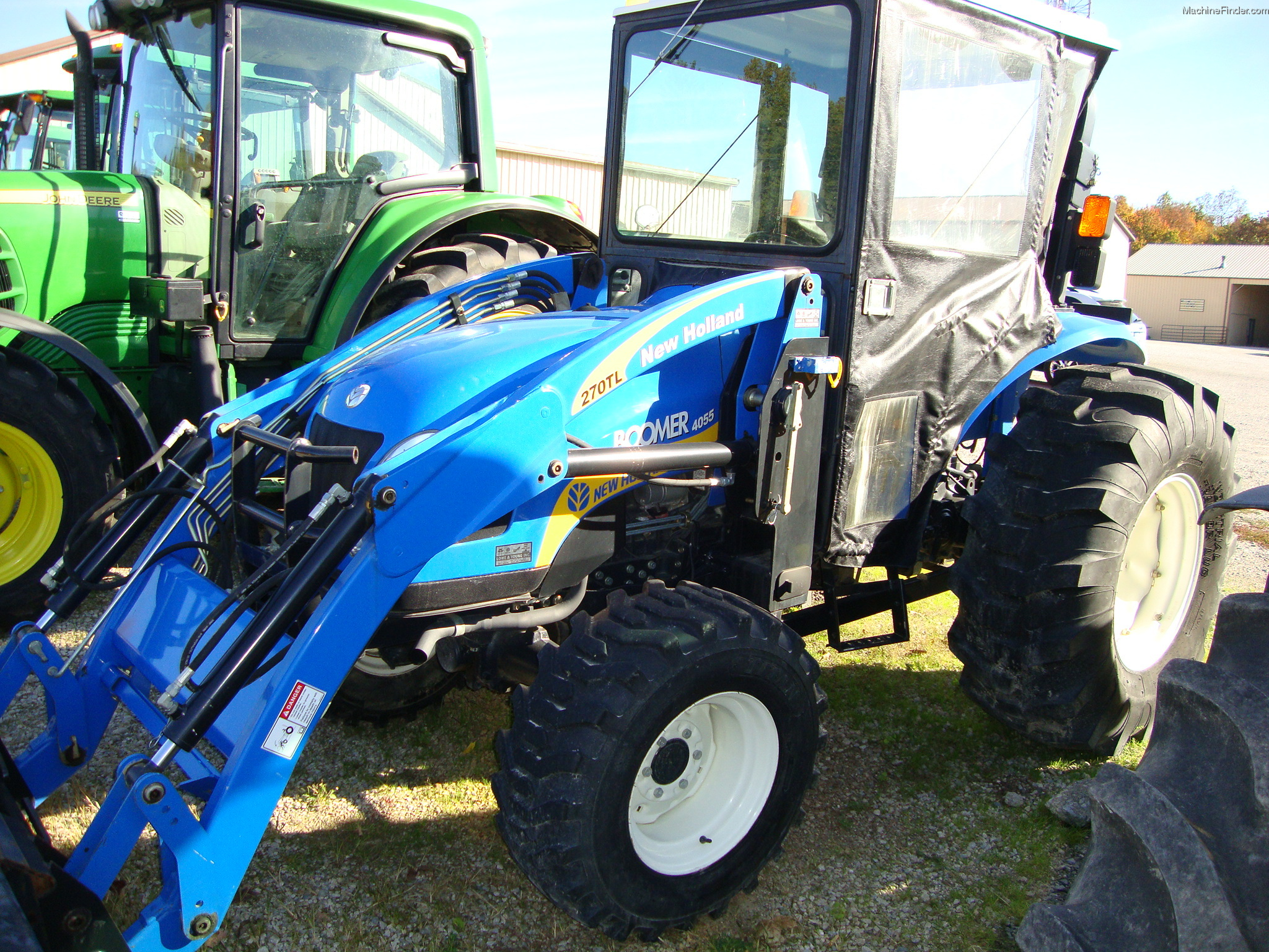 New holland 4055 photo - 8