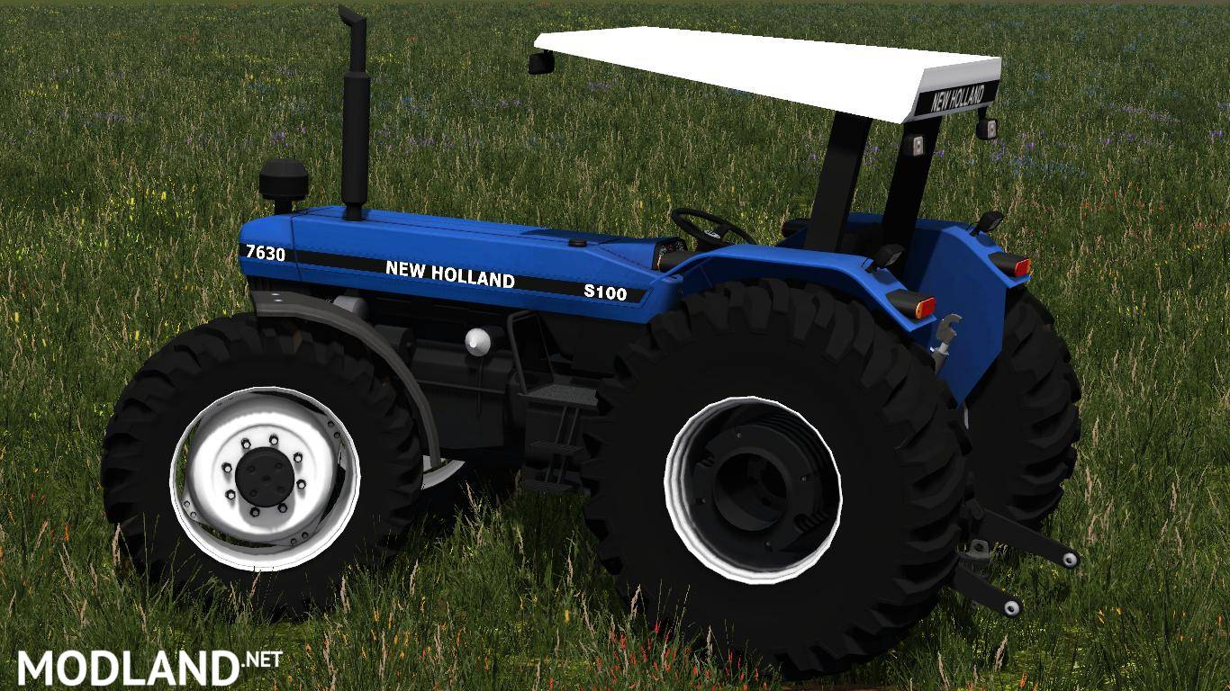 New holland 7630 photo - 5