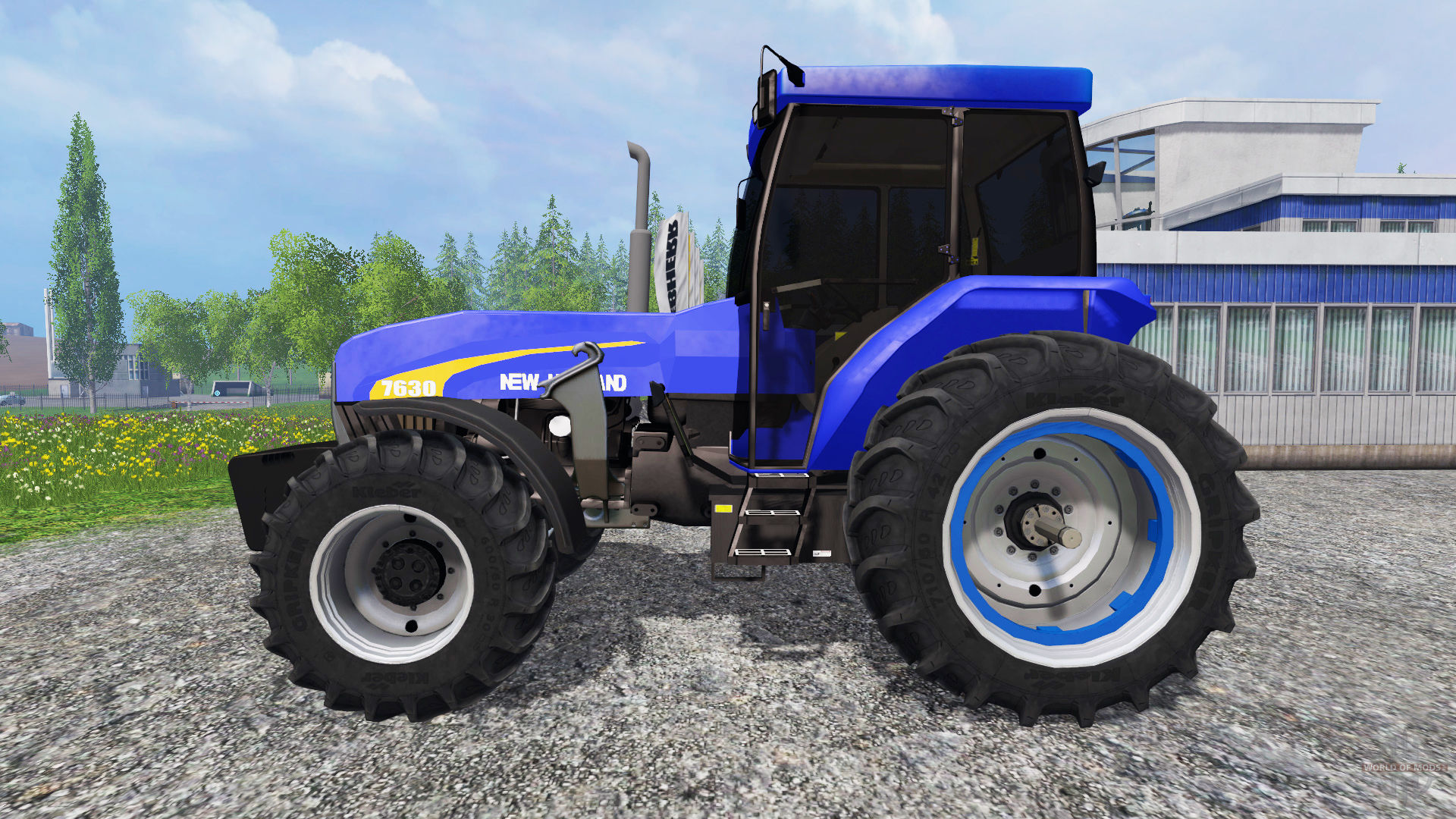 New holland 7630 photo - 6