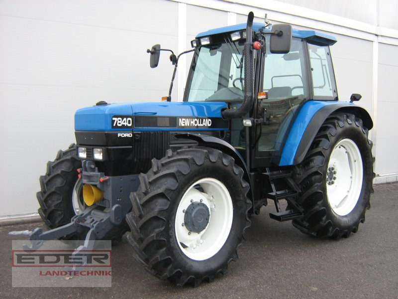 New holland 7840 photo - 2