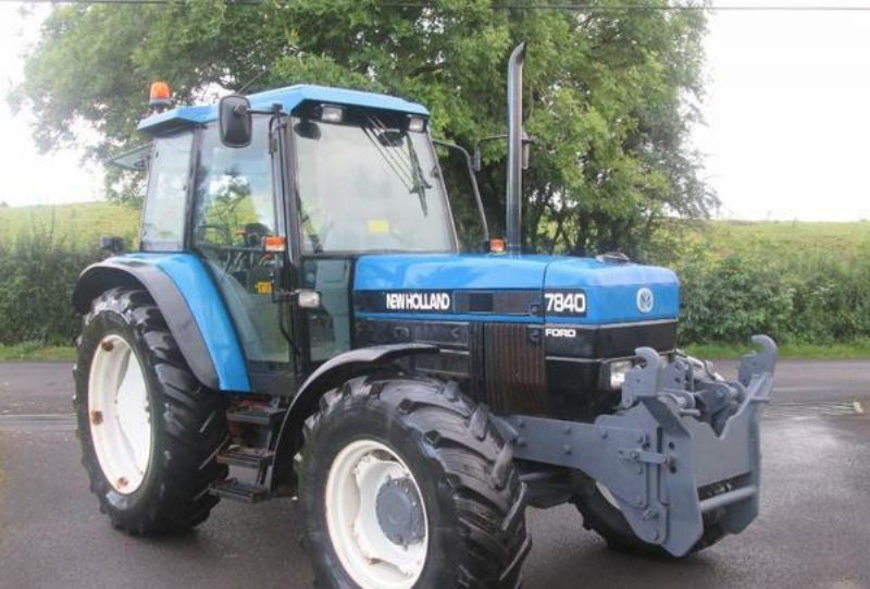 New holland 7840 photo - 6