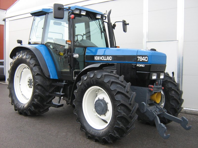 New holland 7840 photo - 8