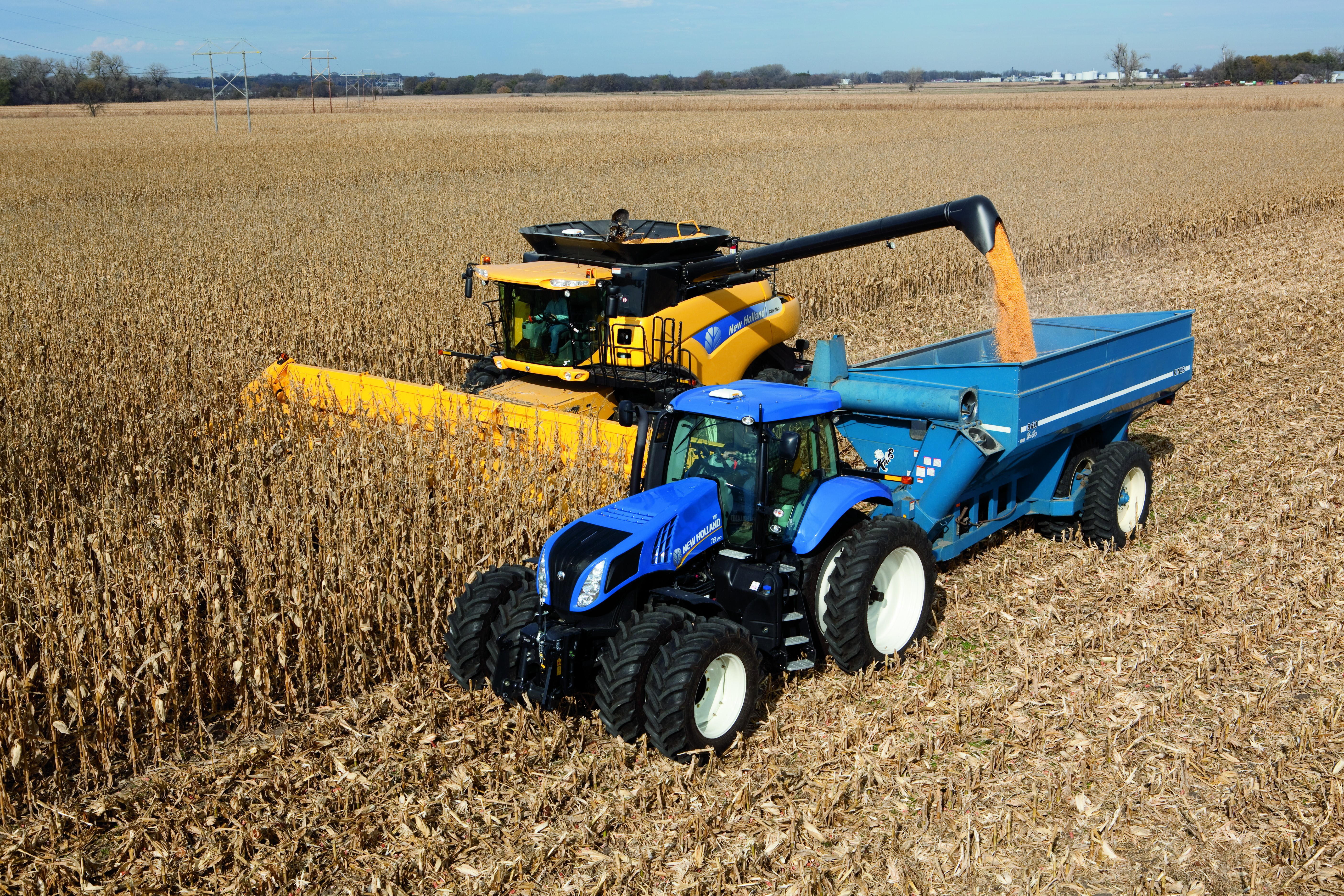 New holland d photo - 9
