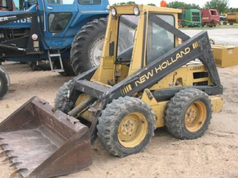 New holland l555 photo - 4