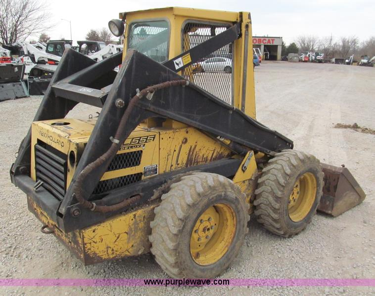 New holland l555 photo - 5