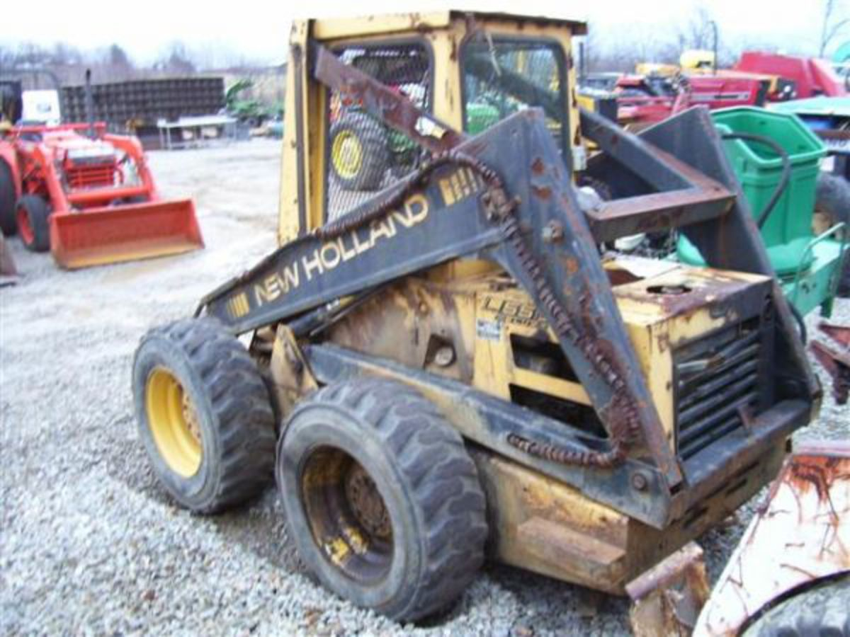 New holland l555 photo - 7