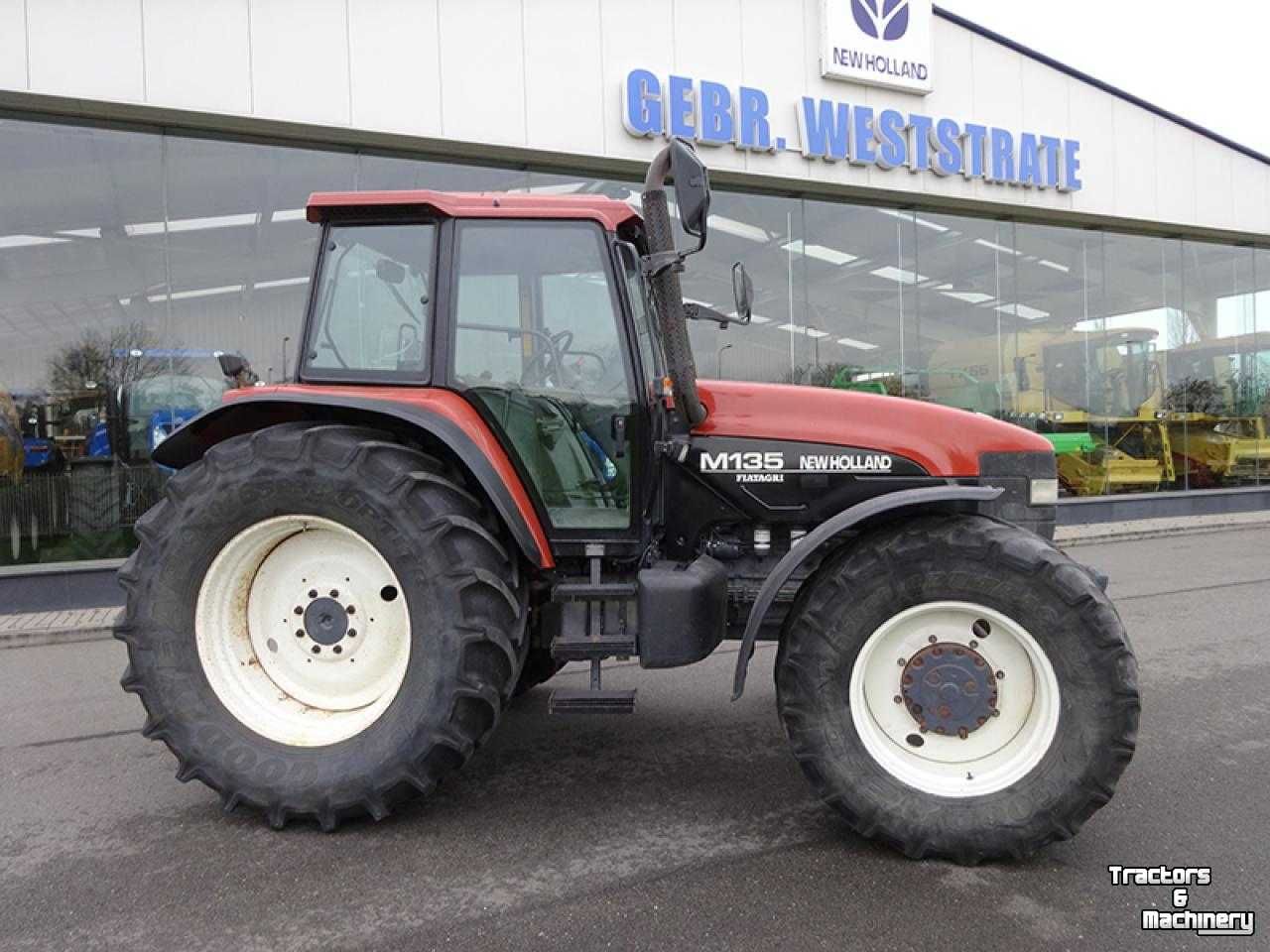 New holland m135 photo - 2