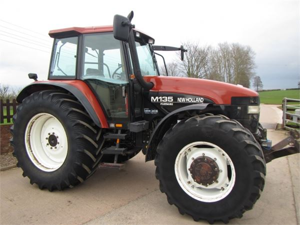 New holland m135 photo - 3