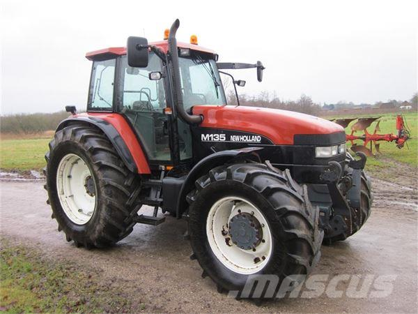 New holland m135 photo - 6