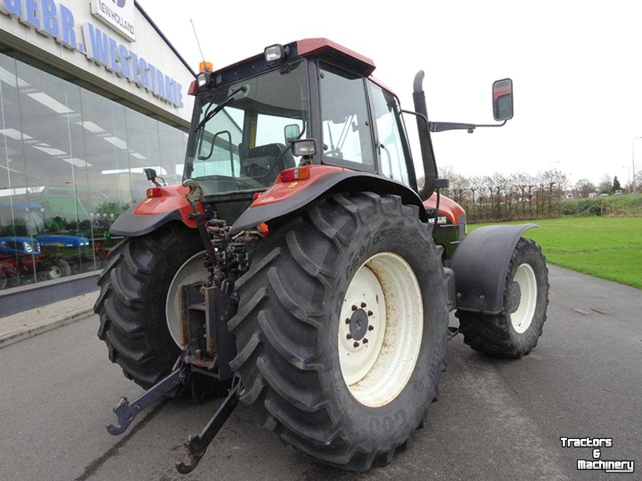 New holland m135 photo - 8