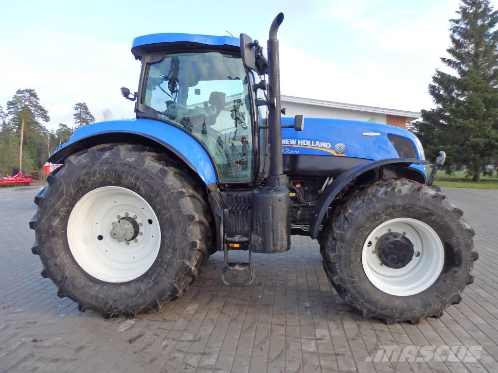 New holland t photo - 6