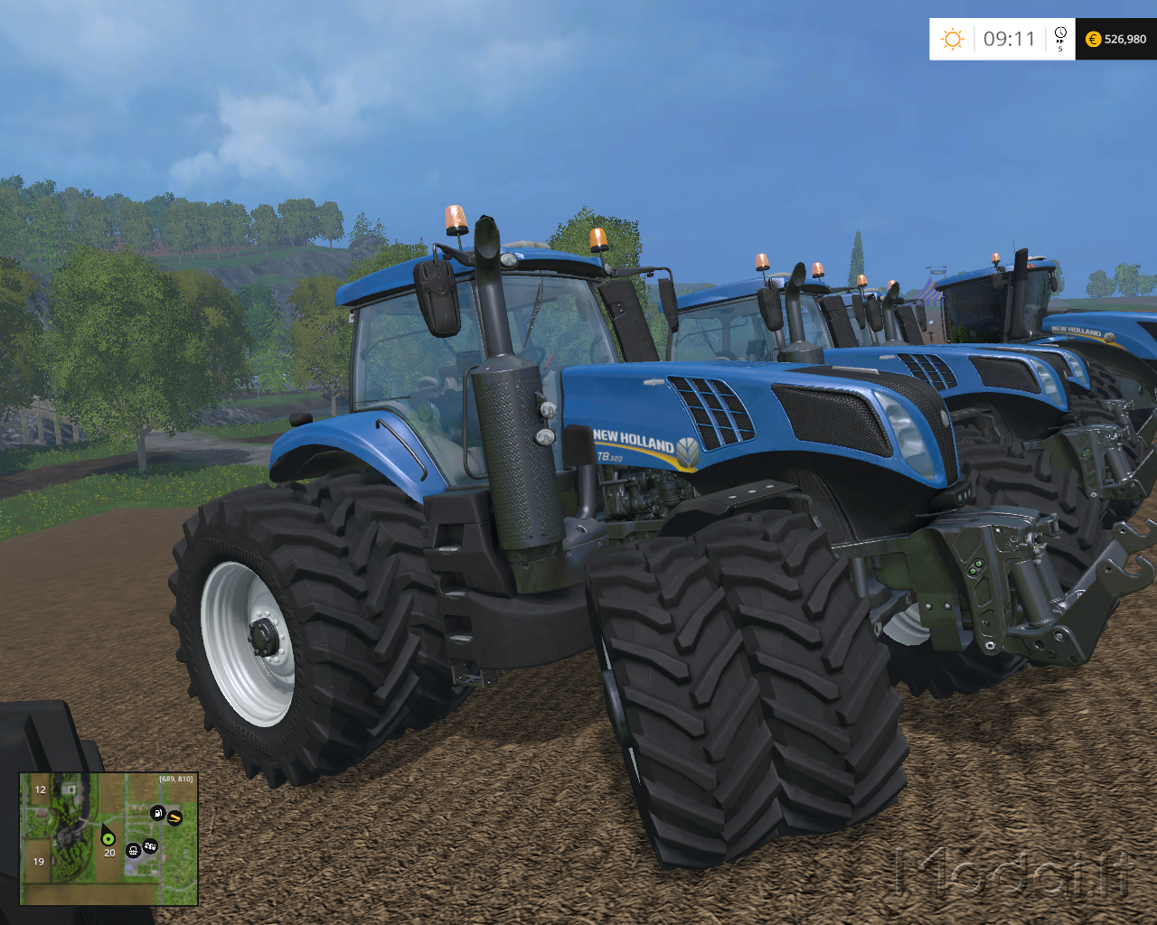 New holland t-series photo - 5