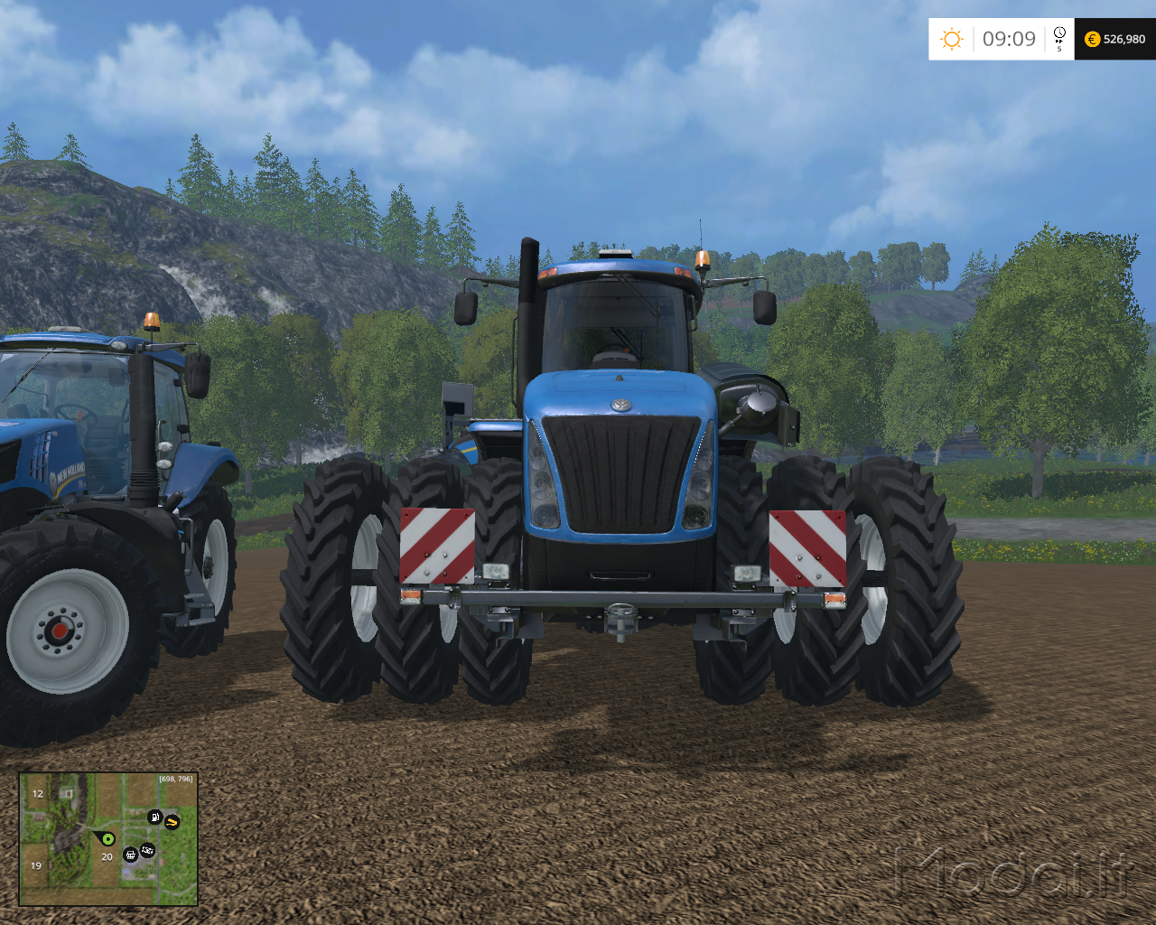 New holland t-series photo - 6