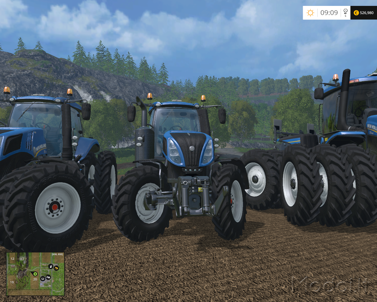New holland t-series photo - 7