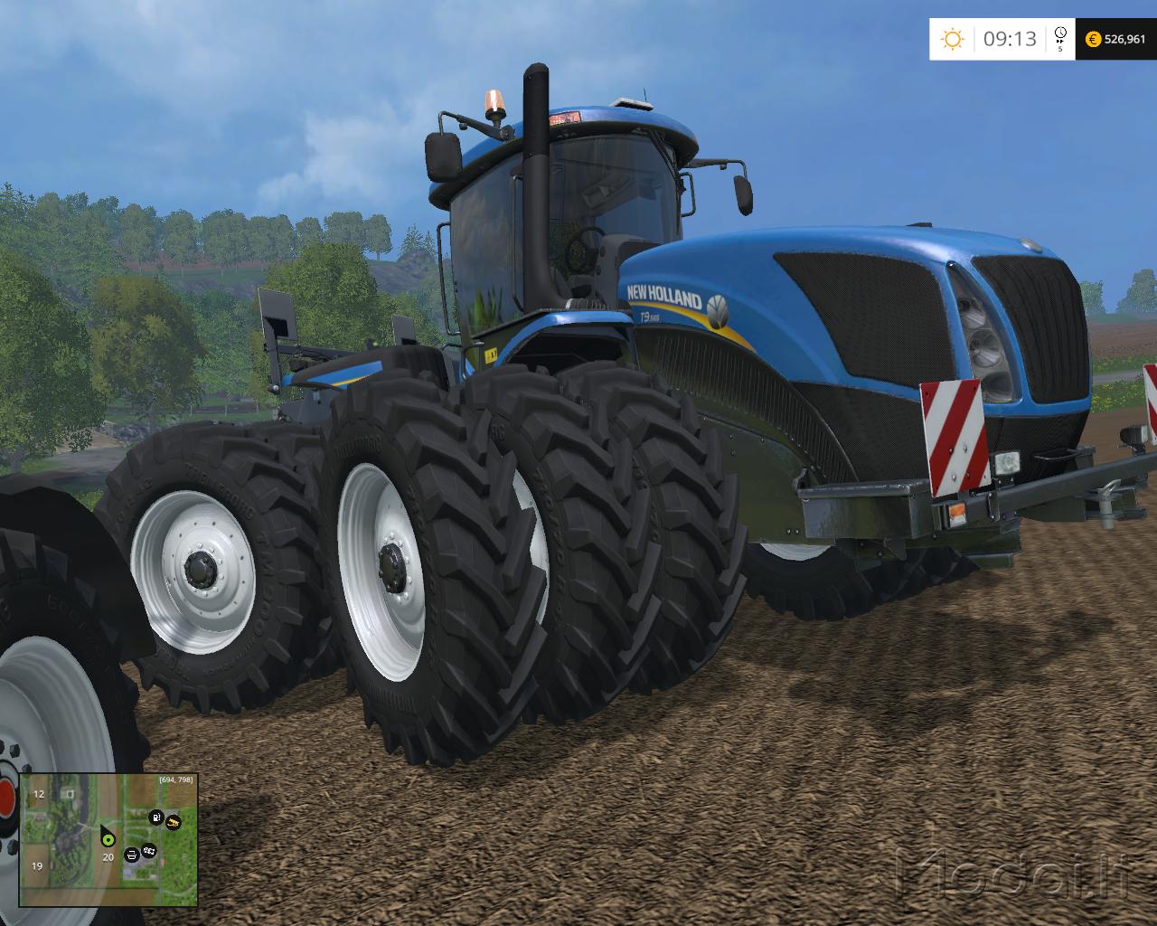 New holland t-series photo - 9