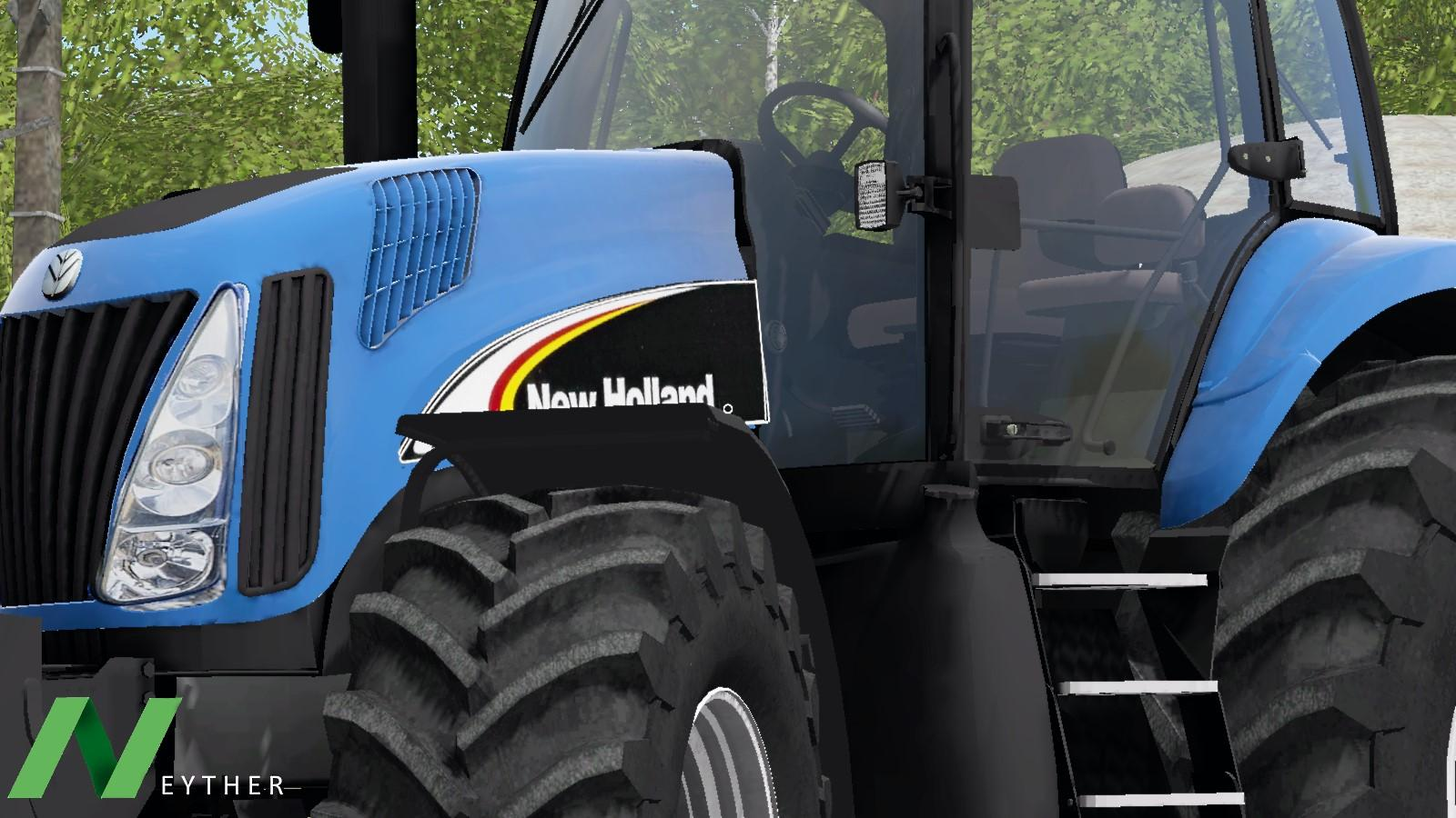 New holland tg-series photo - 2