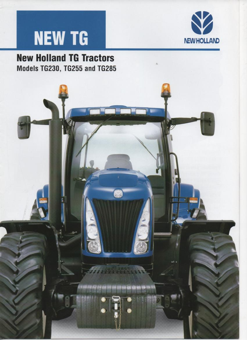 New holland tg-series photo - 9