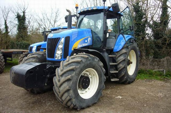 New holland tg285 photo - 1