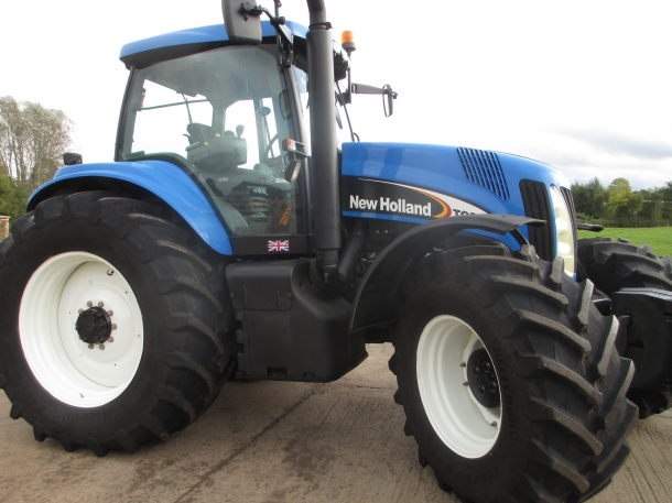 New holland tg285 photo - 10