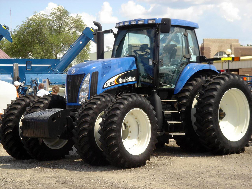 New holland tg285 photo - 3
