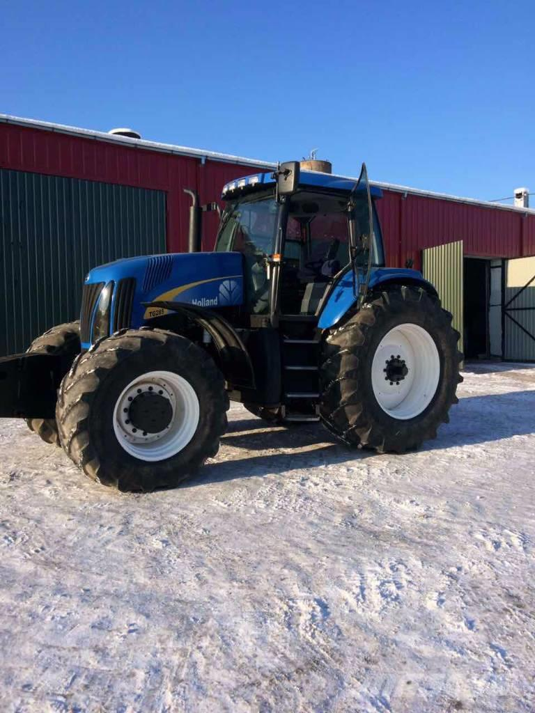 New holland tg285 photo - 4