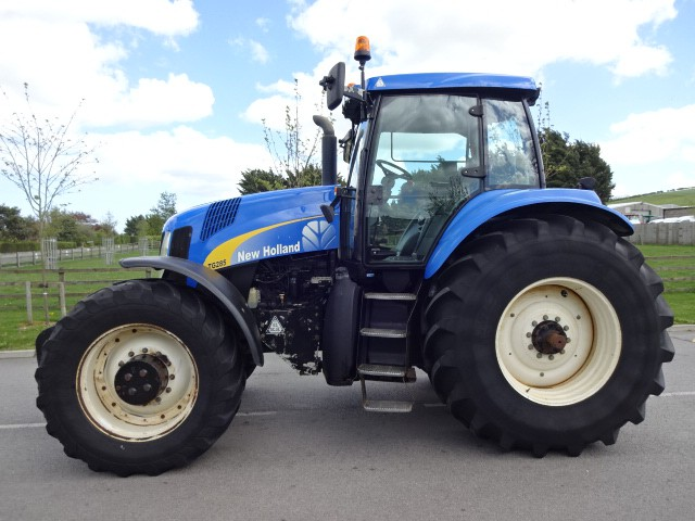 New holland tg285 photo - 5