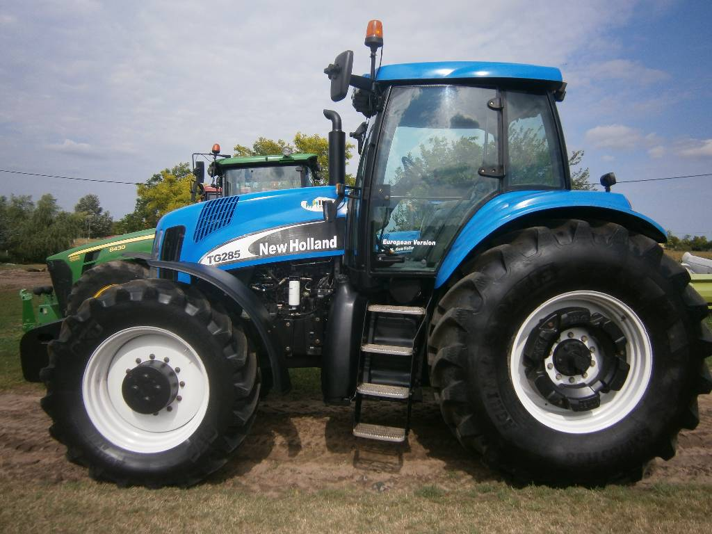 New holland tg285 photo - 7