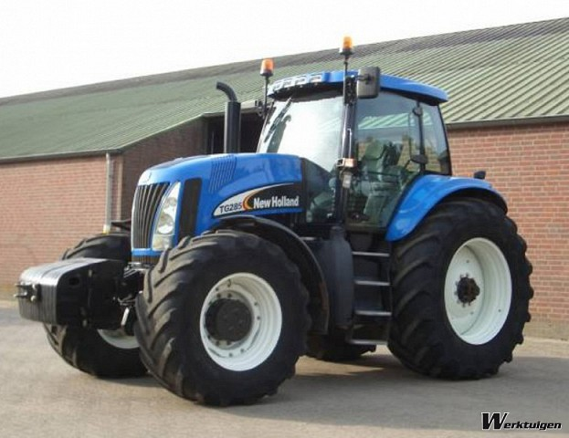 New holland tg285 photo - 8
