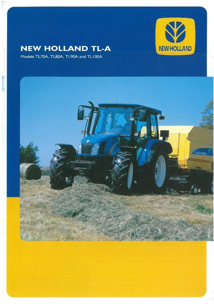 New holland tl-series photo - 7