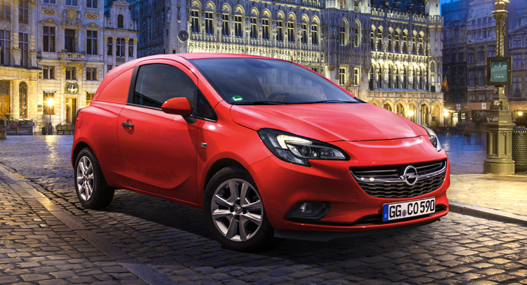 Opel corsavan photo - 1
