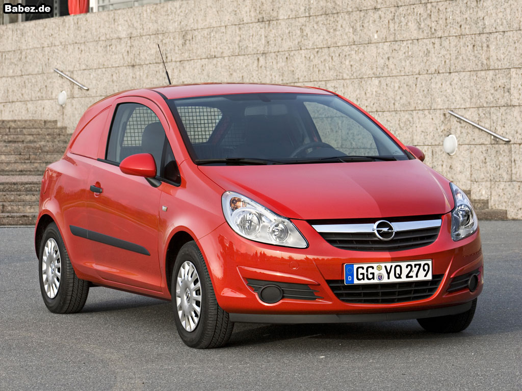 Opel corsavan photo - 3