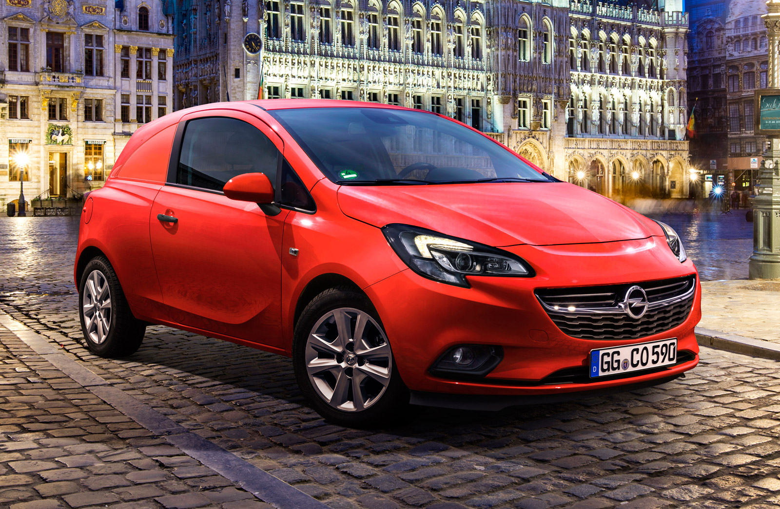 Opel corsavan photo - 7