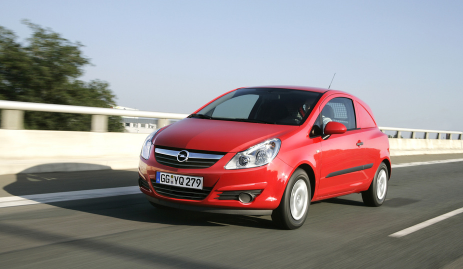 Opel corsavan photo - 8