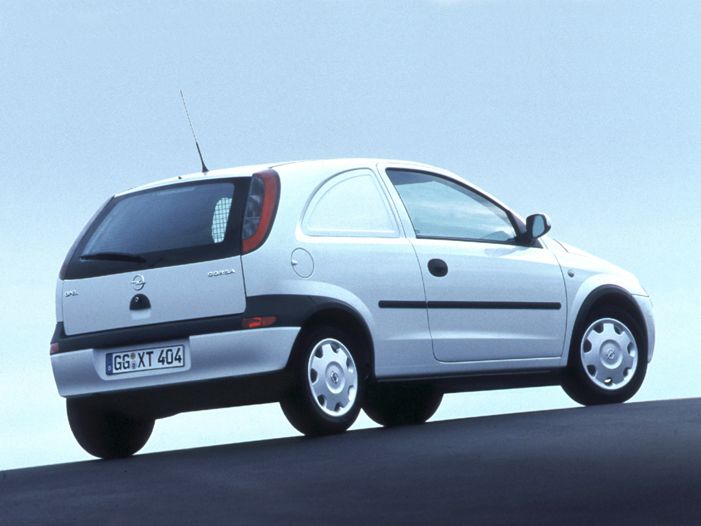 Opel corsavan photo - 9